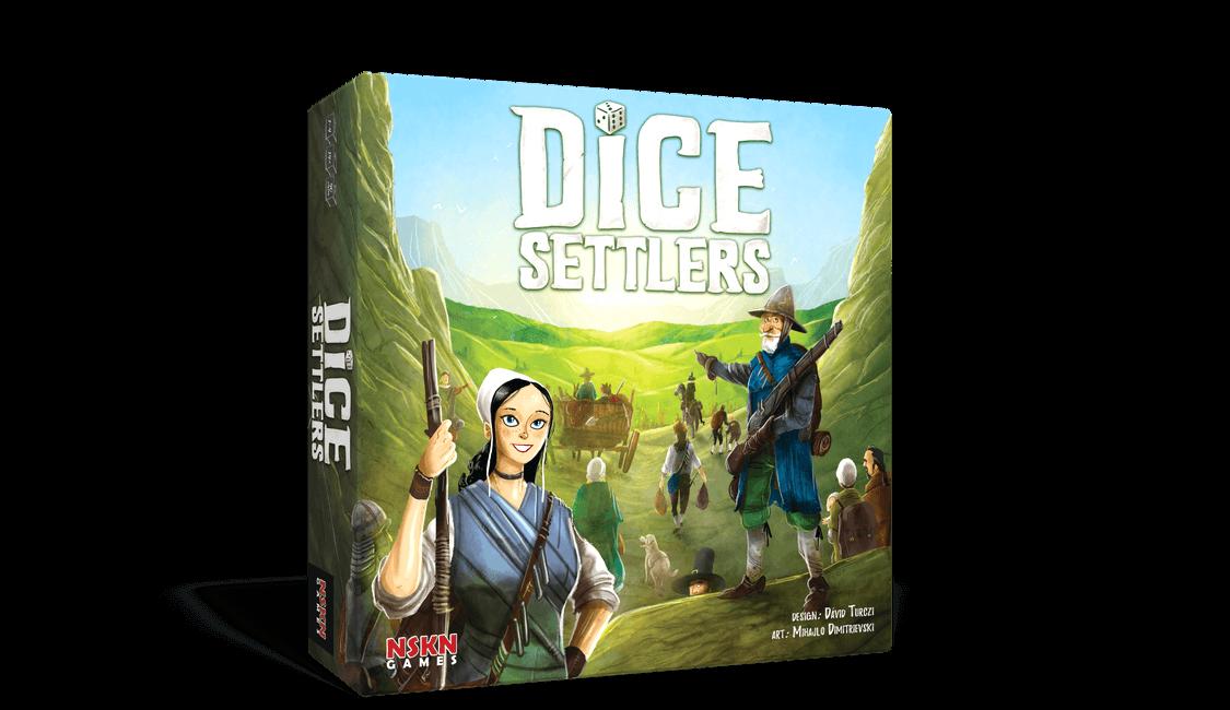 Dice Settlers Board Game SvarogsDen