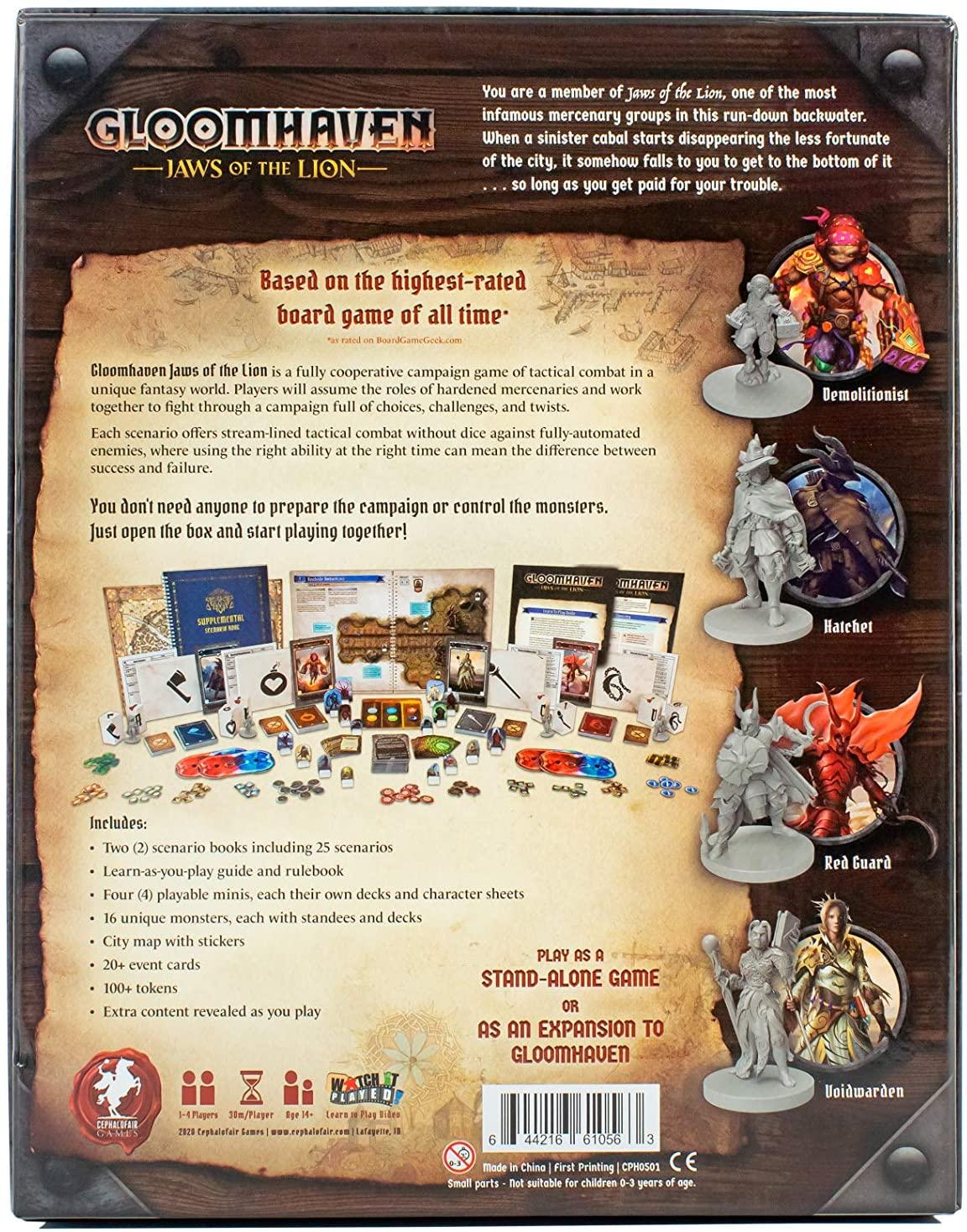 Gloomhaven Jaws of Lion Board Game SvarogsDen