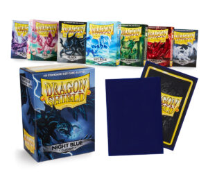 Matte Art sleeves – A tale forged in dragon fire