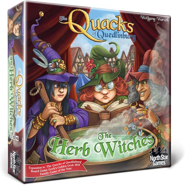 Quacks The Herb Witches Board Game SvarogsDen