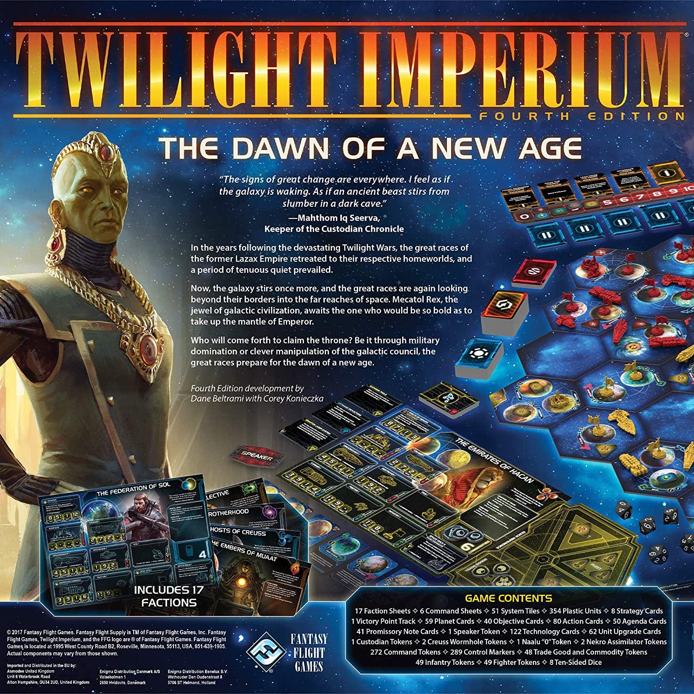 Twilight Imperium The Dawn of a New Age Board Game SvarogsDen