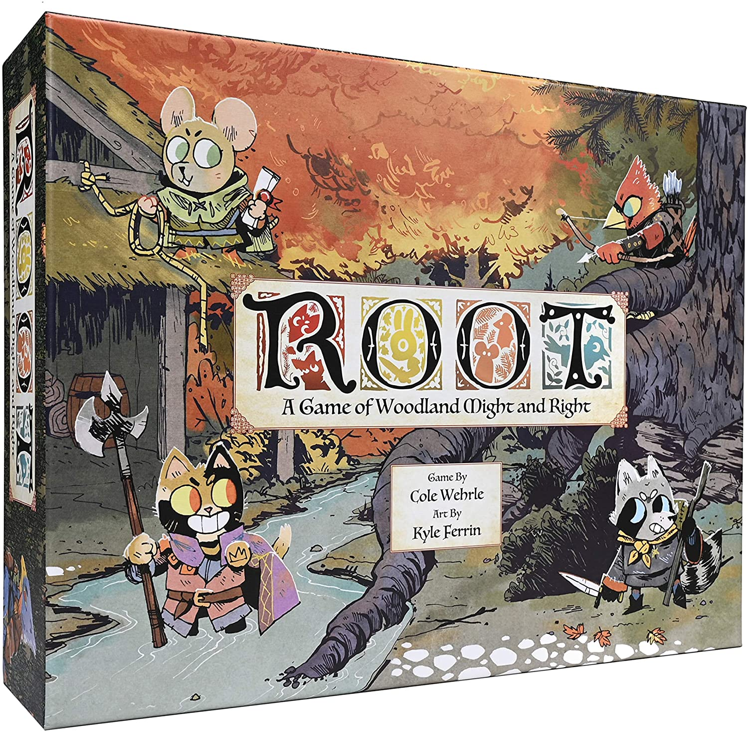 ROOT A Game of Woodland Might And Right Board Game SvarogsDen