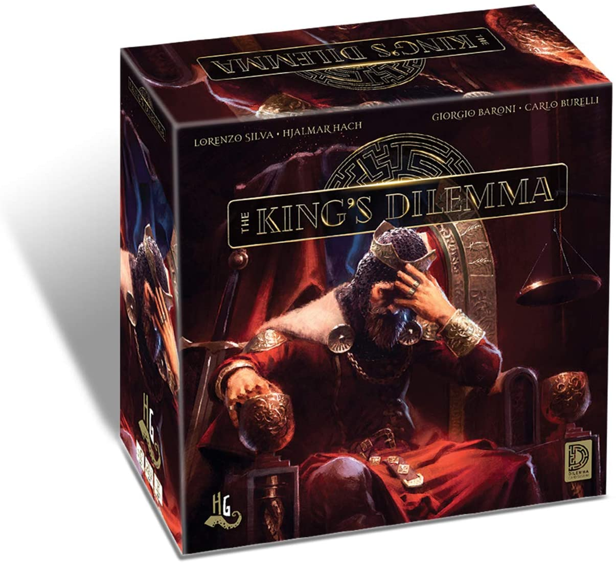 The Kings Dilema Board Game SvarogsDen