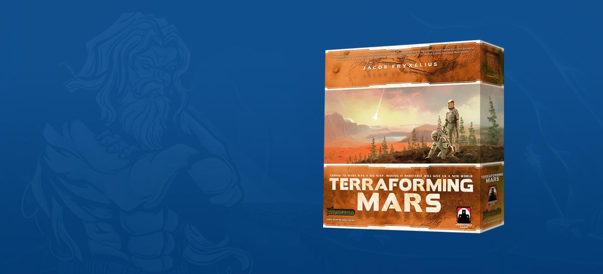 Terraforming Mars Board Game SvarogsDen