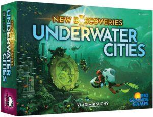 Underwater Cities New Discoveries Board Game SvarogsDen