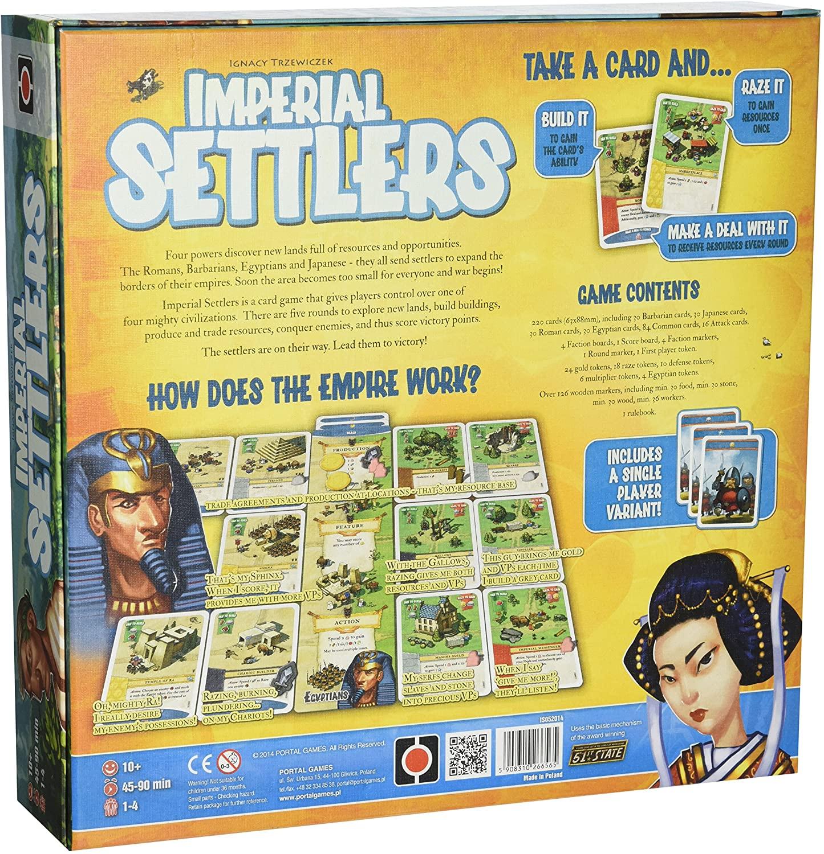 Imperial Setlers Board Game SvarogsDen